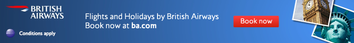 British Airways: Special offers on flights & holidays