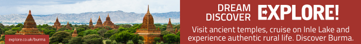 Explore: Adventure holidays to Burma