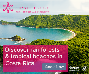 First Choice: All inclusive holiday deals for Costa Rica in 2017/2018