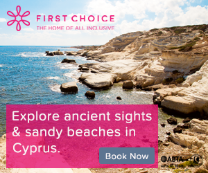 First Choice: All inclusive holiday deals for Cyprus in 2017/2018