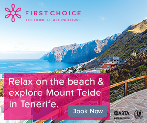 First Choice: All inclusive holiday deals for Tenerife in 2017/2018