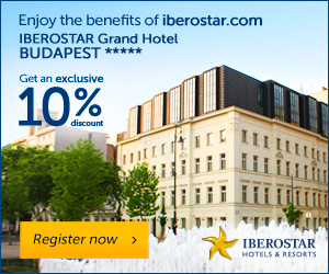 Iberostar Grand Hotel Budapest: 10% exclusive discount - Register with My IBEROSTAR