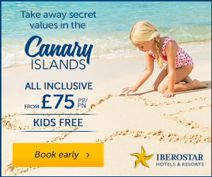 Iberostar sale: All inclusive hotel stays in the Canaries for £75 pppn + kids for FREE