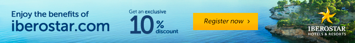Iberostar: 10% exclusive discount - Register with My IBEROSTAR
