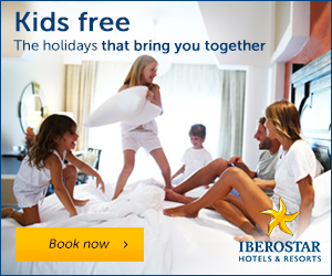 Iberostar Hotels & Resorts: FREE kids places