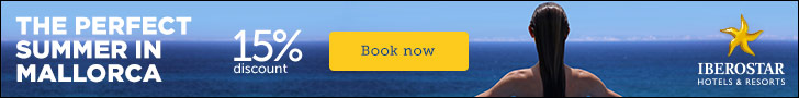 15% discount on Iberostar Playa de Palma, Majorca