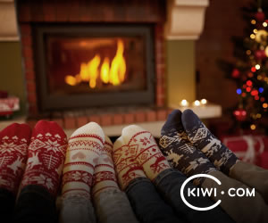 Travel home for Christmas with flexible fares from Kiwi.com