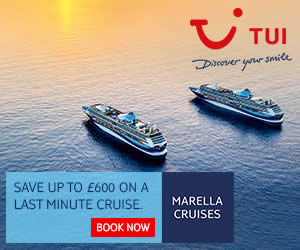 Say Hello to TUI, the new name in cruises - up to £600 off