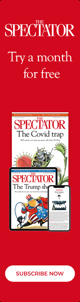 Free 1 month trial subscription to The Spectator