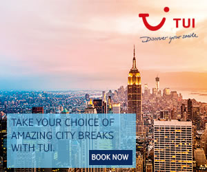 TUI: Book online & save on city breaks in 2020/2021