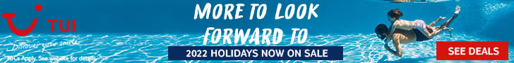Book 2022 holidays early & save with TUI