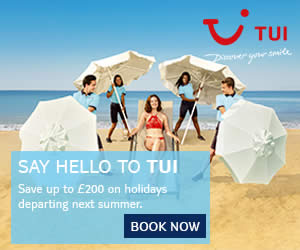 Say Hello to TUI, the new name in holidays - up to £200 off summer 2018