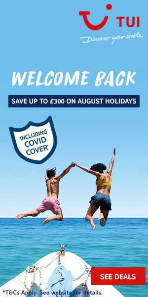 TUI: Top summer holiday deals for August 2020