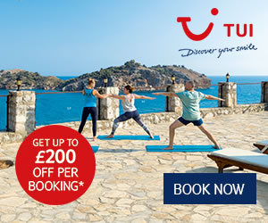 TUI: Book online & save on holidays in 2020/2021