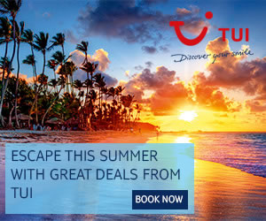 TUI: Book online & save on holidays in 2018/2019