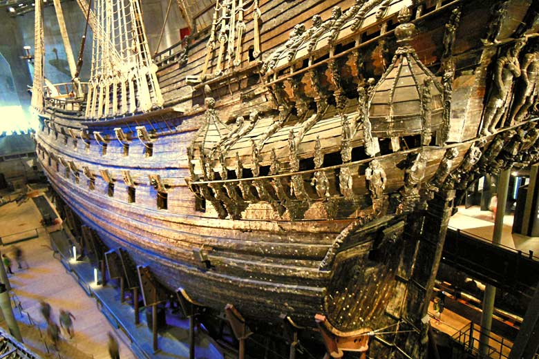 The restored 64-gun warship Vasa, Stockholm © Frank Jania - Flickr Creative Commons