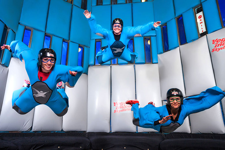 7 things that don't involve gambling in Las Vegas © Fred Morledge - www.vegasindoorskydiving.com