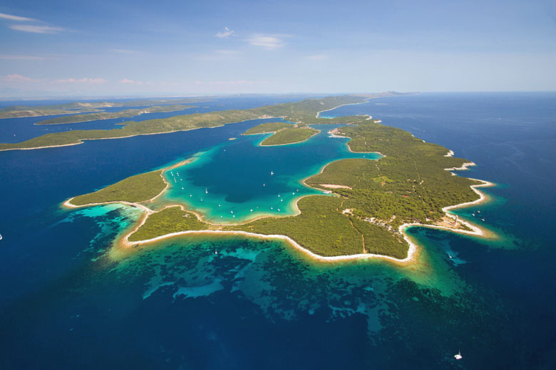 Aerial view of Dugi Otok - courtesy Croatia National Tourist Board