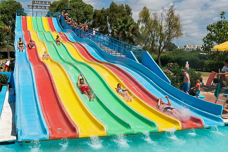 Aguamar Water Park, Ibiza © David Pearson - Alamy Stock Photo
