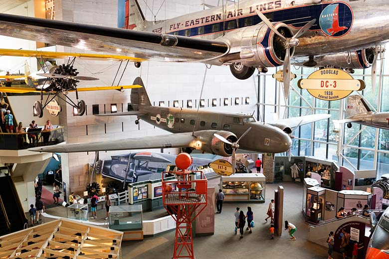 The Air and Space Museum, Washington DC © Kmiragaya - Dreamstime