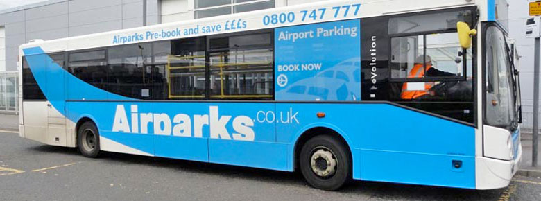 Airparks Shuttle Bus © Airparks.co.uk