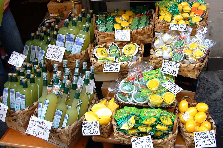 All things lemon on the Amalfi Coast © Joe Ross - Flickr Creative Commons