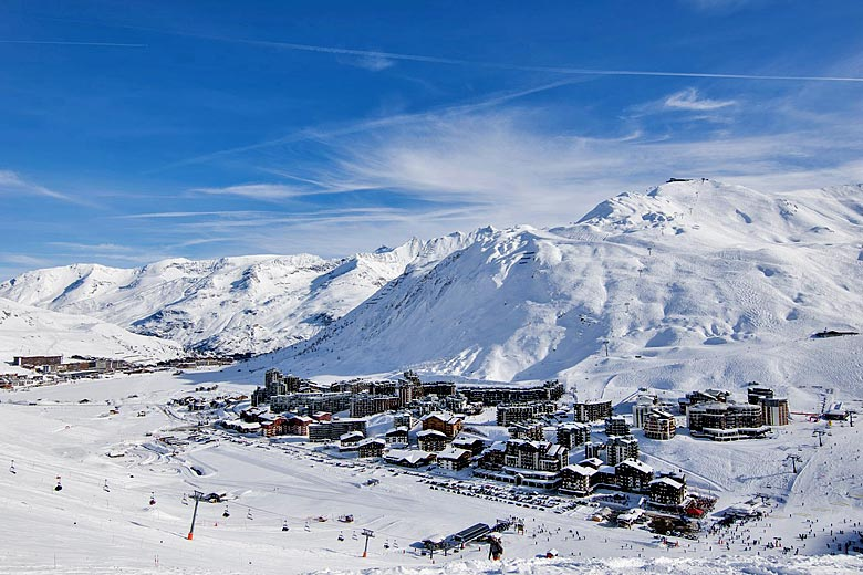 The alpine ski resort of Tignes, France © Antoine Lamielle - Wikimedia Commons