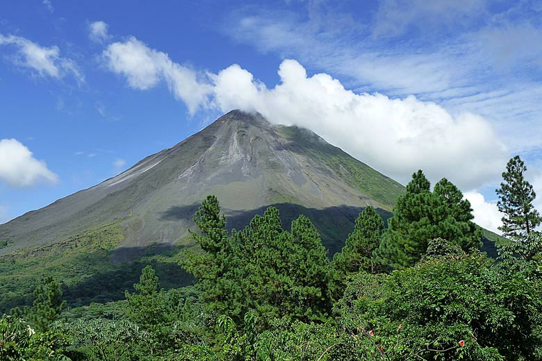 Arenal, one of seven active volcanoes in Costa Rica © Don Henise - Flickr Creative Commons