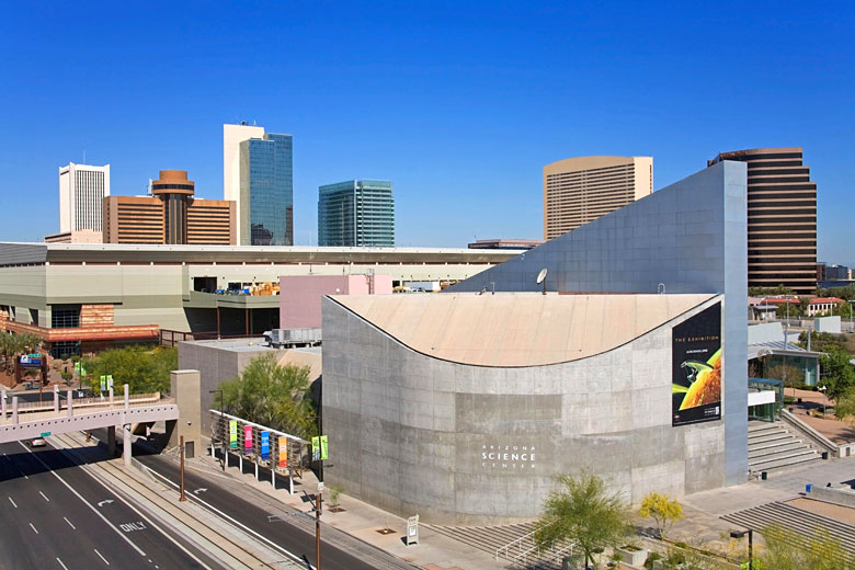 Arizona Science Center, downtown Phoenix, USA © Design Pics Inc - Alamy Stock Photo