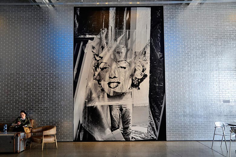 Statement artwork inside the Andy Warhol Museum, Pittsburgh © J Pellgen - Flickr Creative Commons