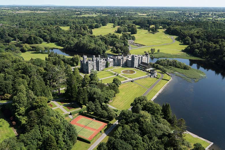 Ashford Castle in County Mayo, Ireland © Aervisions - Red Carnation Hotels