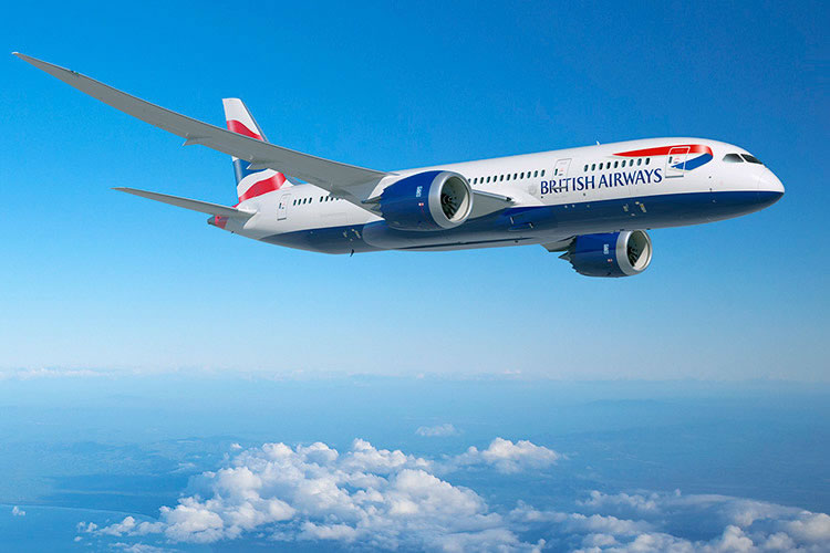 British Airways offers flights to destinations worldwide © British Airways