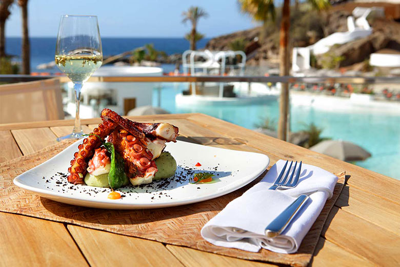 Light lunch at the Beach Club, Hard Rock Hotel, Tenerife - photo courtesy of Hard Rock Cafe International, Inc