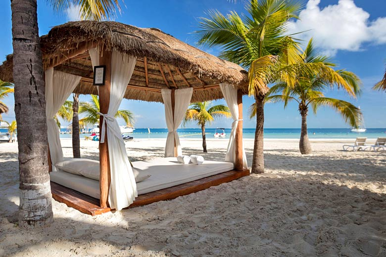On the beach at InterContinental Presidente Cancun Resort - photo courtesy of InterContinental Hotels Group