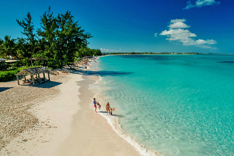 The beach in Turks & Caicos - photo courtesy of Beaches