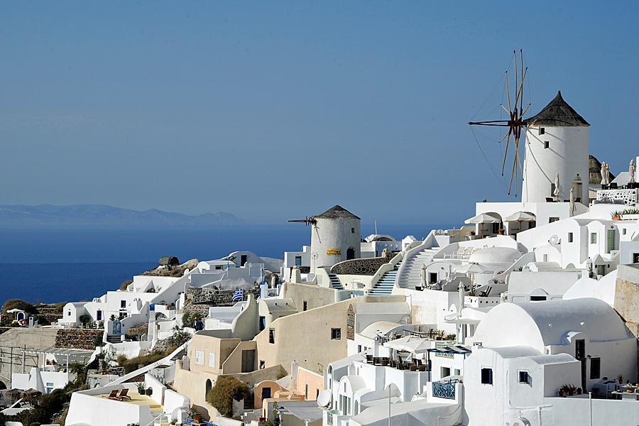 Beautiful Oia, Santorini, Greece © Kathryn Burrington - TravelWithKat.com