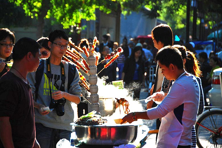 Beijing street food is deliciously diverse © Long Zheng - Flickr Creative Commons
