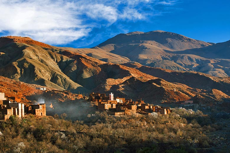 Berber village, High Atlas Mountains © Elena Moiseeva - Fotolia.com