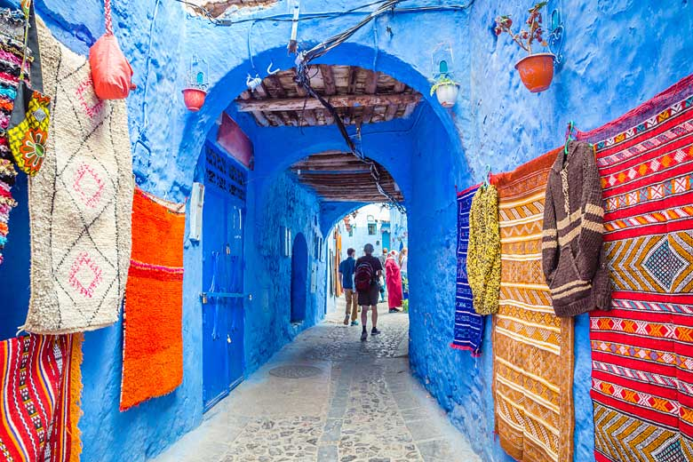 Exploring the 'Blue Pearl', the village of Chefchaouen © Olena Z - Adobe Stock Image