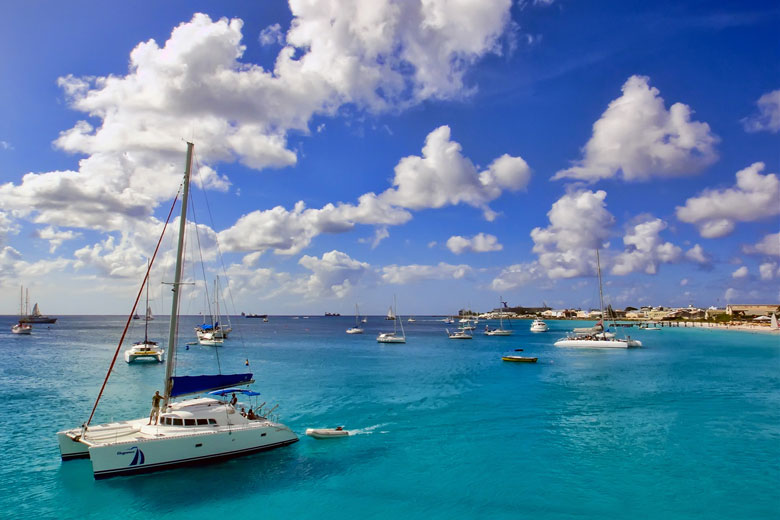 Blue skies over Barbados © Andrea - Flickr Creative Commons