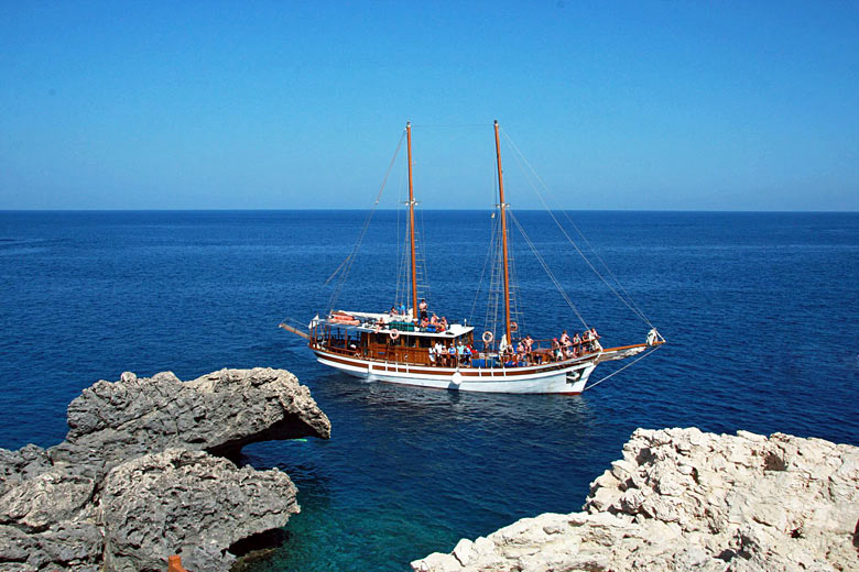Boat trip on the San Antonio II, Paphos, Cyprus - Photo courtesy of Paphos Sea Cruises