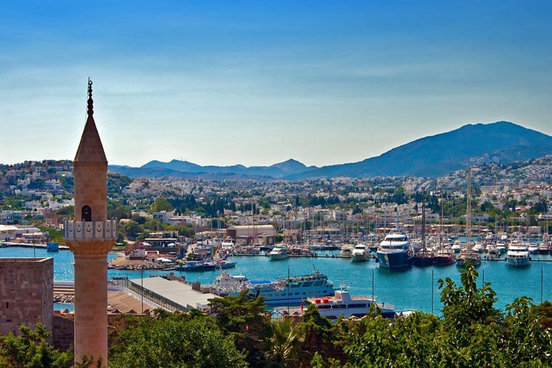 The port is one of Bodrum's great attractions - photo courtesy of Turkish Culture and Tourism Office