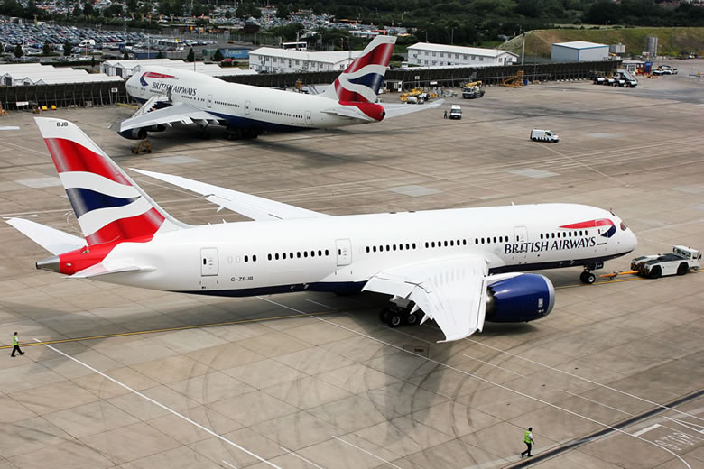 British Airways - Boeing 787 Dreamliner © British Airways