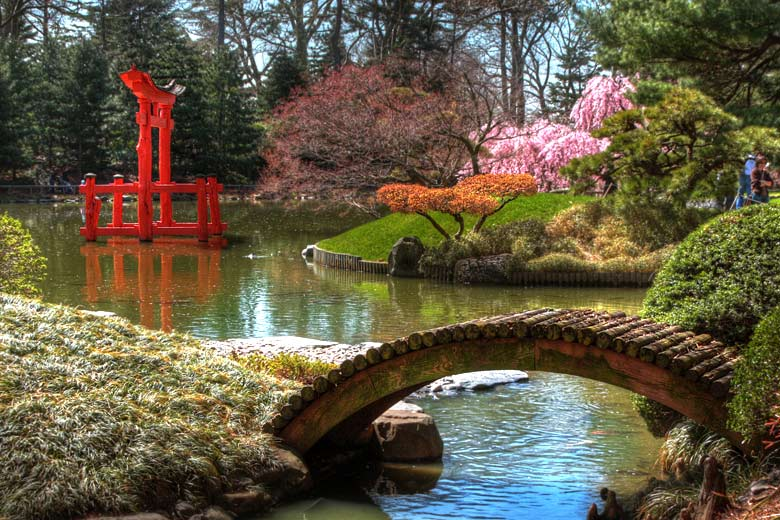 Japanese section at the Brooklyn Botanic Garden © Betty Crocker - Wikimedia Commons