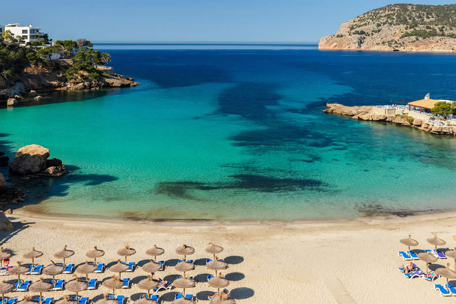 View of Camp de Mar Cove from H10 Blue Mar, Majorca © H10 Hotels