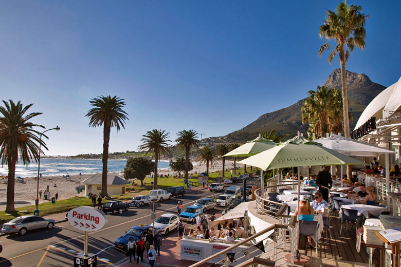 Camps Bay, Cape Town - photo courtesy of South African Tourism