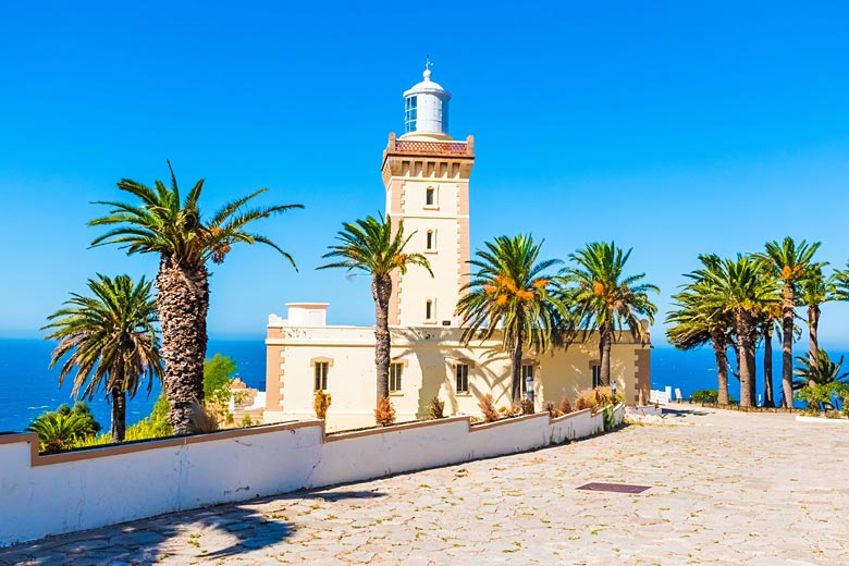 Pretty Cape Spartel Lighthouse, Tangier, Morocco © Pszabo - Adobe Stock Image