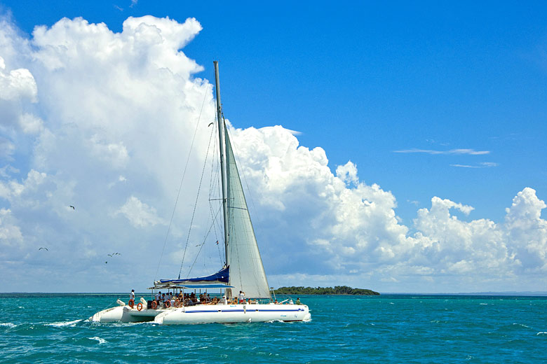 Catamaran cruise to Cayo Blanco, Varadero, Cuba © Arco Images GmbH - Alamy Stock Photo