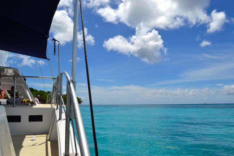 Catamaran Cruising in Barbados © TheTravelHack.com