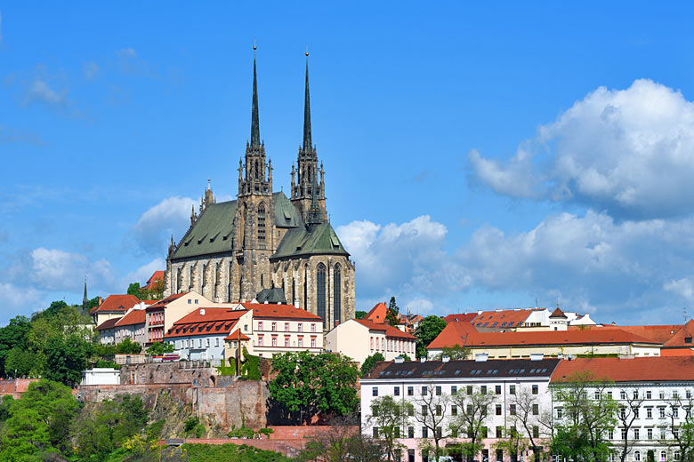 The imposing Cathedral of St Peter and St Paul in Brno © Grondetphoto - AdobeStock image
